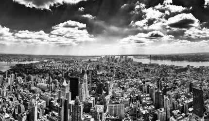 Black and White New York City Wallpaper