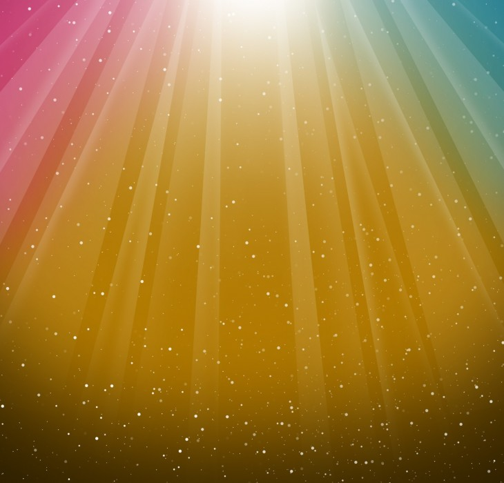 Burst of Colour Wallpaper