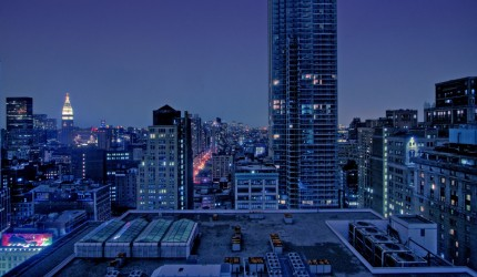 City at Night Wallpaper