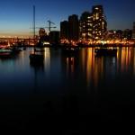Docks at Night Wallpaper