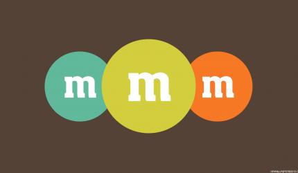 M&M Logo Wallpaper