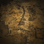Middle Earth Map Wallpaper