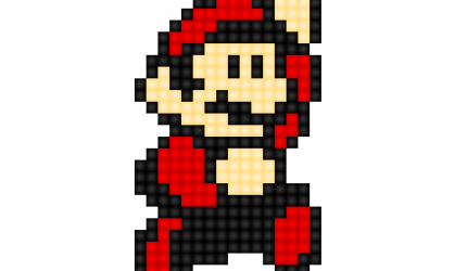Pixel Mario Wallpaper