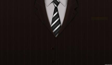 Tie & Blazer Wallpaper