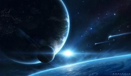 Planet View Wallpaper