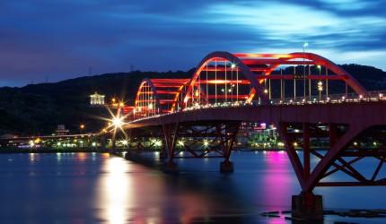 Red Bridge Wallpaper