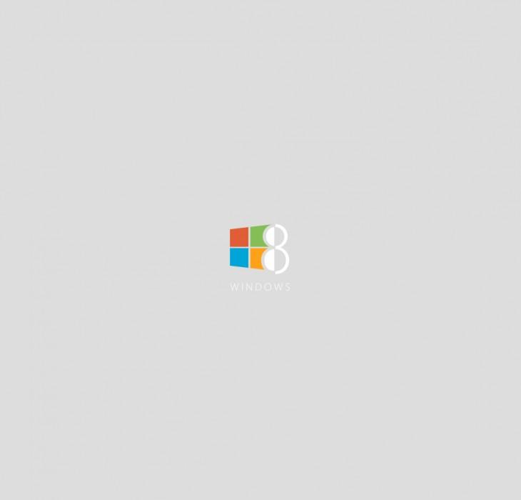 Grey Windows 8