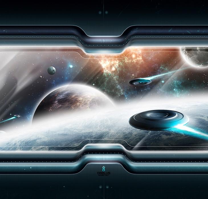 Space Scenery Wallpaper