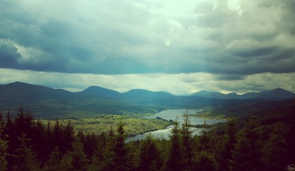 A beautiful image of Scottish hills wallpaper