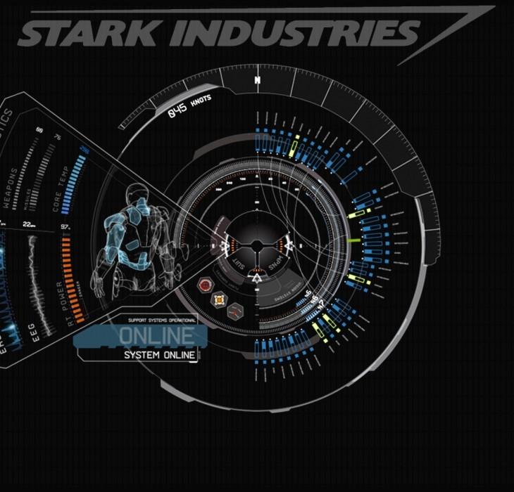 Iron Man 3 technical drawing wallpaper