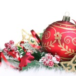 Christmas Bauble Wallpaper