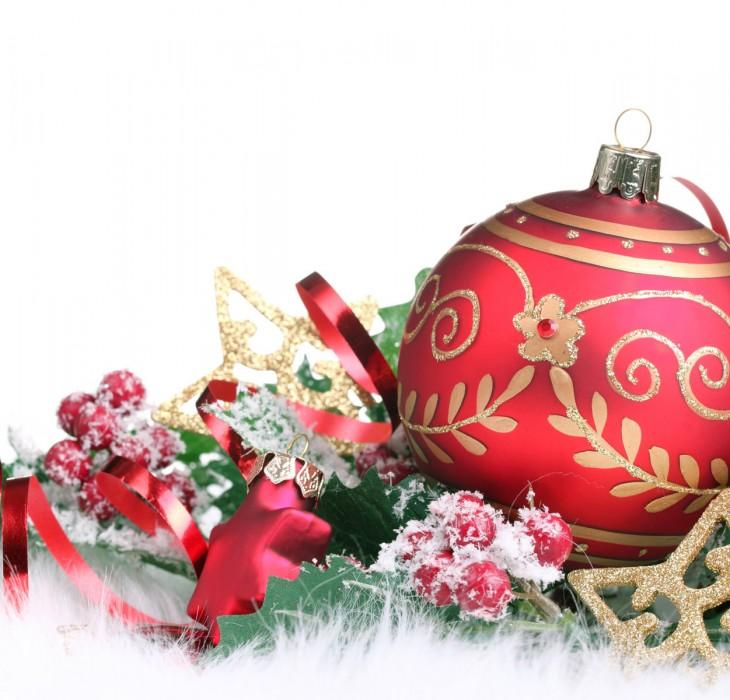 Christmas Bauble Wallpaper