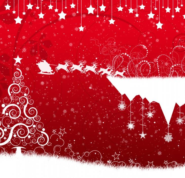 Christmas Sleigh Wallpaper