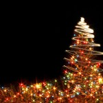 Christmas Tree Sparkle Wallpaper
