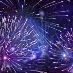 Explosion of Fireworks