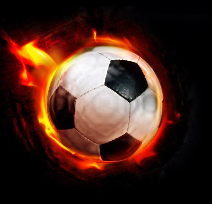 Flaming Football