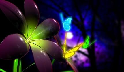 3D CGI Flowers