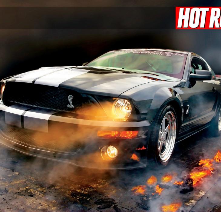 Flaming Hot Rod