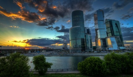 HD Wallpaper of Moscow