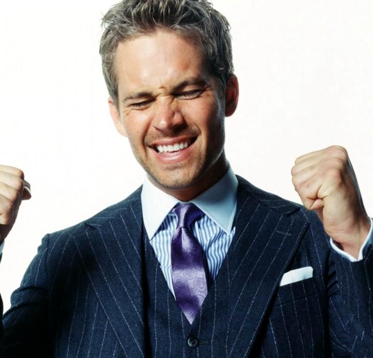Happy HD Wallpaper of Paul Walker