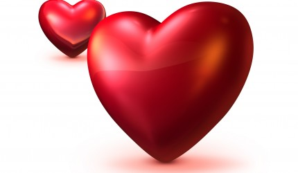 Valentines Two Hearts