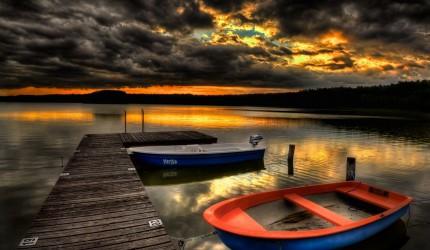 Beautiful HD Sunset Harbour