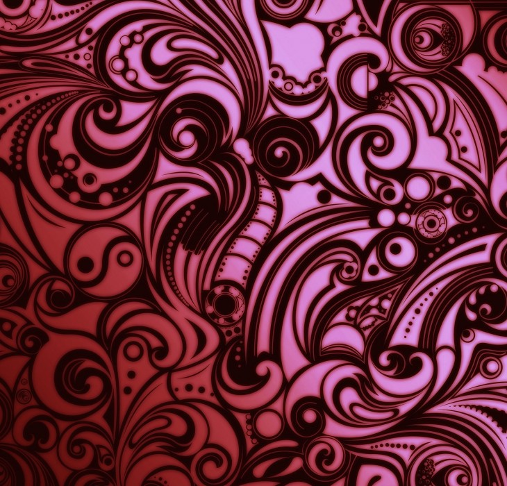 Elegant and Beautiful Purple Pattern