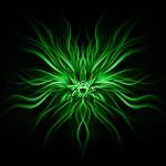 Green Abstract Herbal Symbol