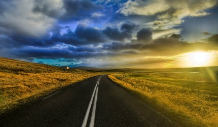 Highway into the Sun