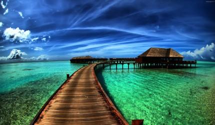 Idyllic Paradise Pier