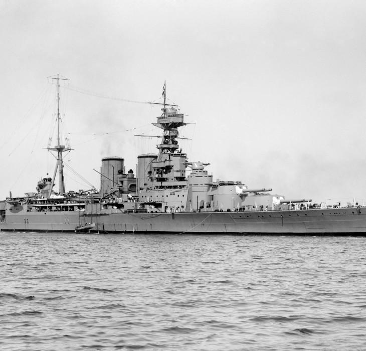 Royal Navy Battlecruiser