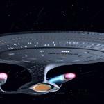 Enterprise at Warp