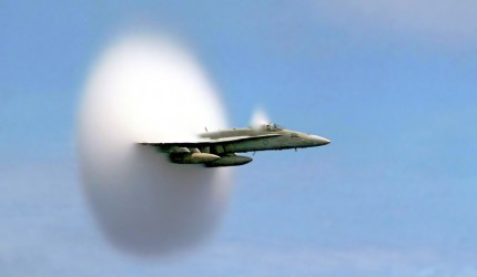 F-15 Breaking the Sound Barrier