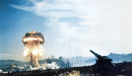 Testing the Atomic Cannon