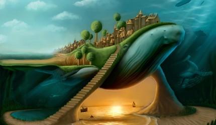 Artistic Under the Sea Wallpaper