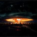 Mass Mushroom Explosion Wallpaper