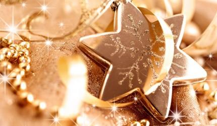 Glittery Christmas Star