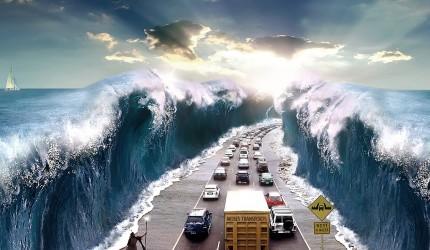 Moses Themed Modern Wallpaper