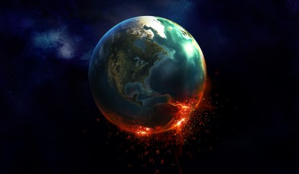 Numbers Falling From Earth
